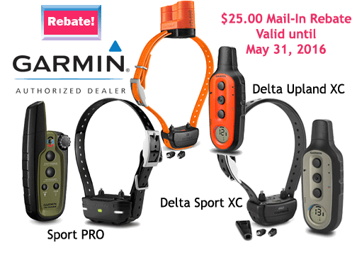 Garmin PRO Get the lowest price ever on Garmin's best e-collar. Add a holster, long line & training DVD for a penny more! Save additional $ with Garmin's mail-in rebate! A printed rebate ships with your collar. Expires 12/23/ The Garmin PRO with Tri-Tronics technology gives the serious trainer one-handed control with a 1-mile range and easy access to 21 levels of momentary.