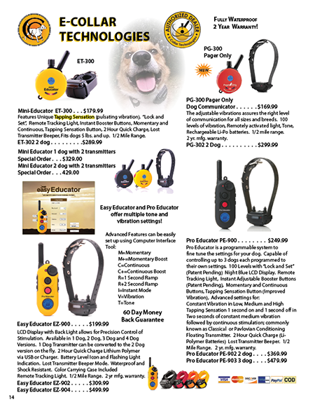 Collar Clinic Free Catalog Features New And Reconditioned