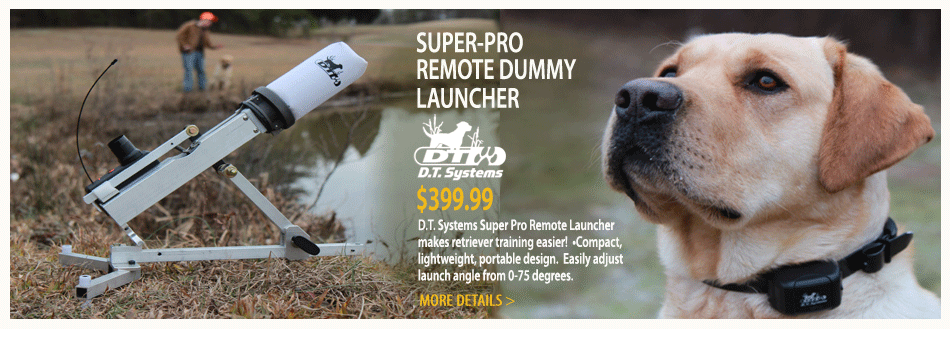 Super-Pro Remote Dummy Launcher from D.T. Systems