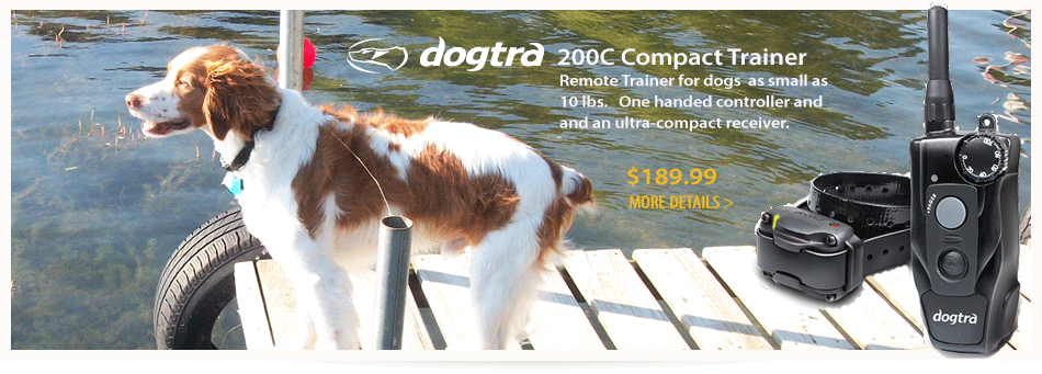 Dogtra 200C Compact Remote Dog Collar Trainer